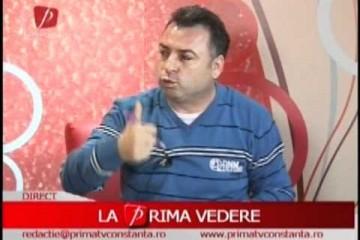 """Emisiunea """"La prima ora"""" (Prima TV Constanta) – invitat primarul orasului Navodari, Matei Nicolae"""